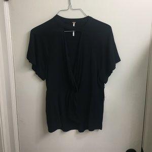 Black Free People blouse